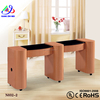 double table Salon furniture uv gel nail polish