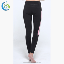 Dry Fit Cheap Polyester Spandex Yoga Pants Padded High Waisted Leggings