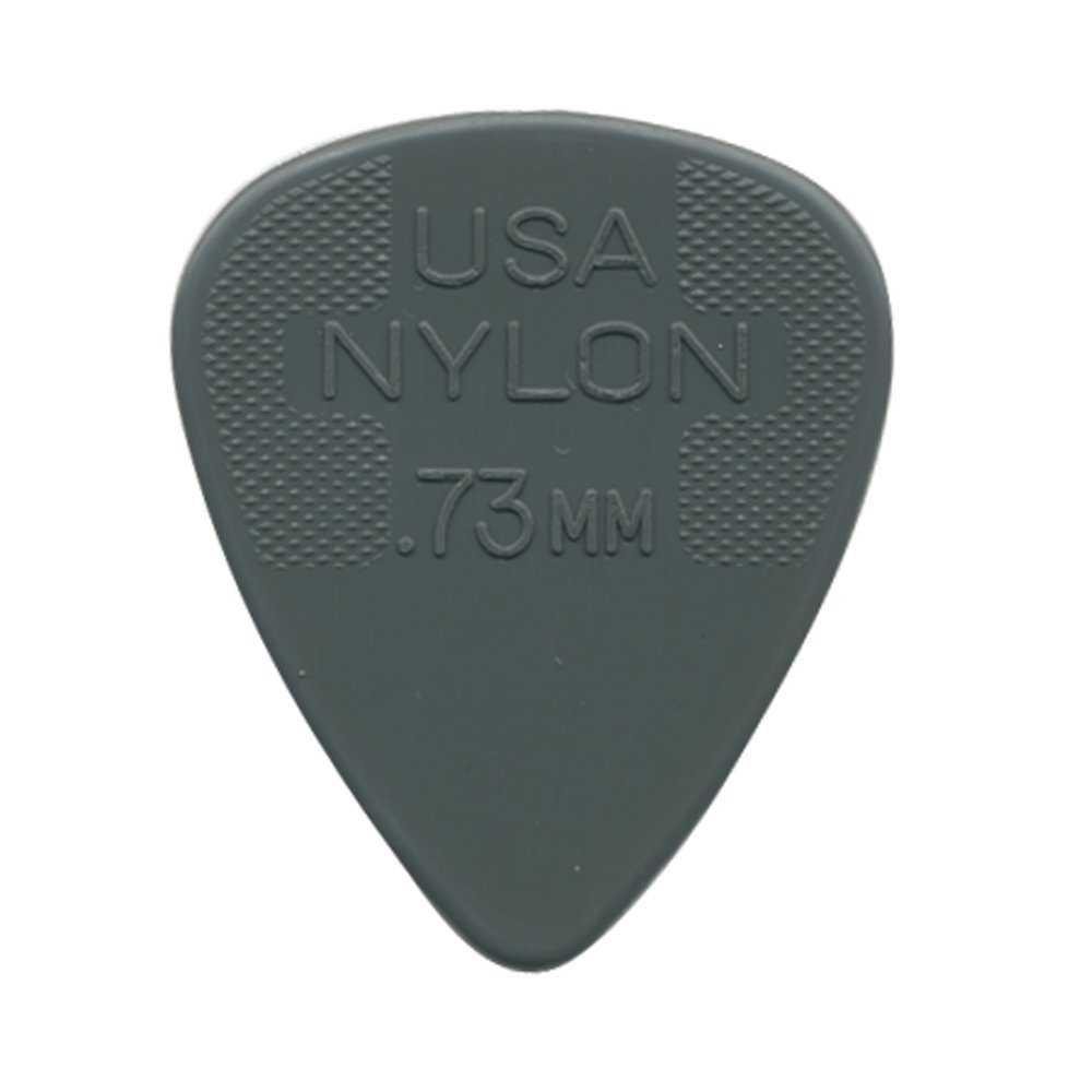 Dunlop 44R.73 Nylon Standard, Gray, .73mm, 72/Bag