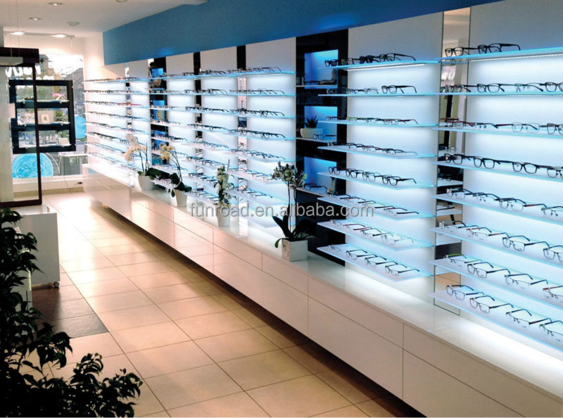 supplier optical retail display store decoration