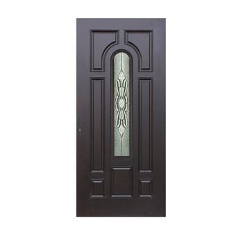 2018 New Design 6 Panel Oak Fiberglass Interior Door For Bathroom