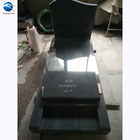 Granite Tombstone Black Poland Granite Monument Guitar Headstones Monuments Tombstone Design