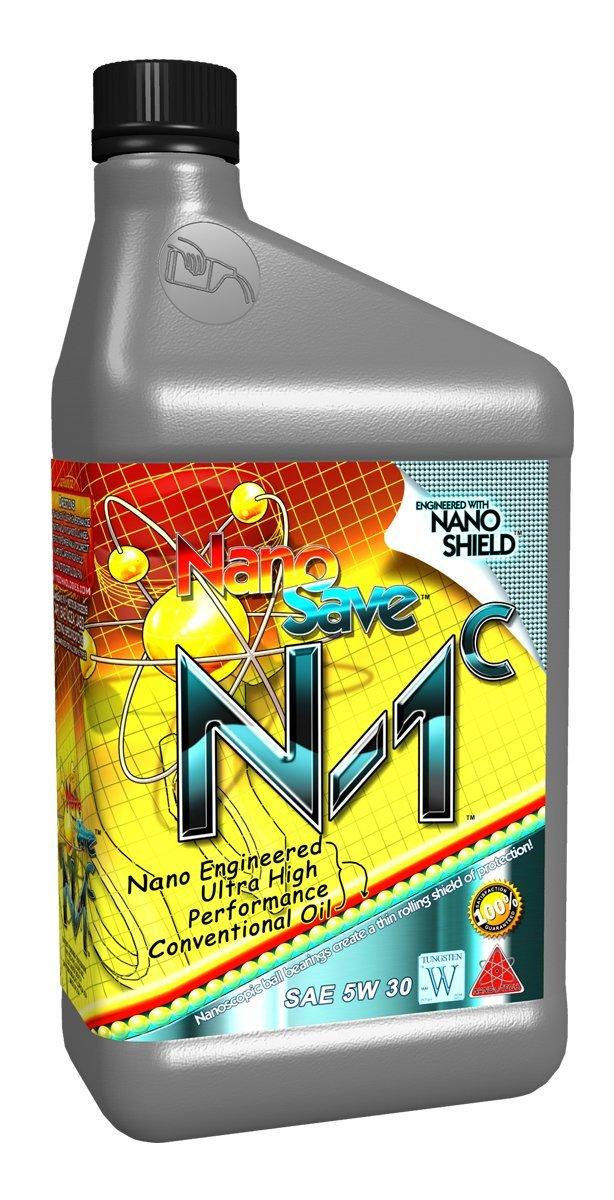 NanoSave N1-C Nano Engineered Premium Conventional Engine Oil - 1 Quart