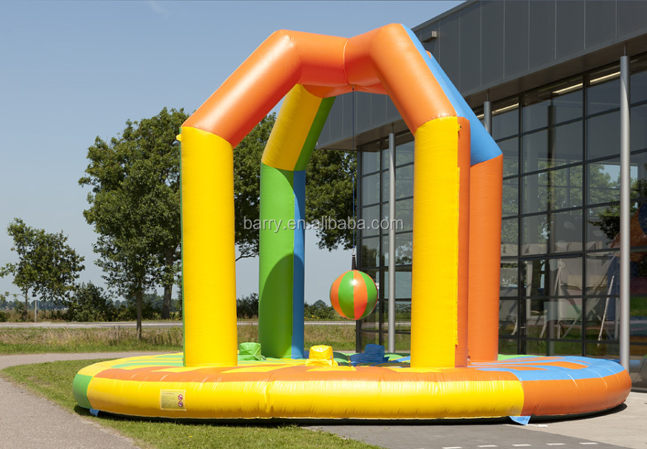 Hot!inflatable wrecking ball for sale,inflatable wrecking ball game