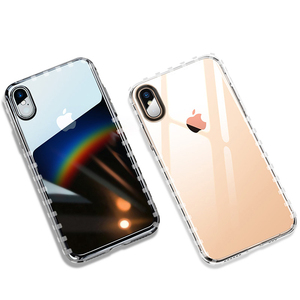 DIOUSI Original Luxury Transparent Case For iphone xs max Case Soft TPU Clear Phone Back Cover for Iphone max