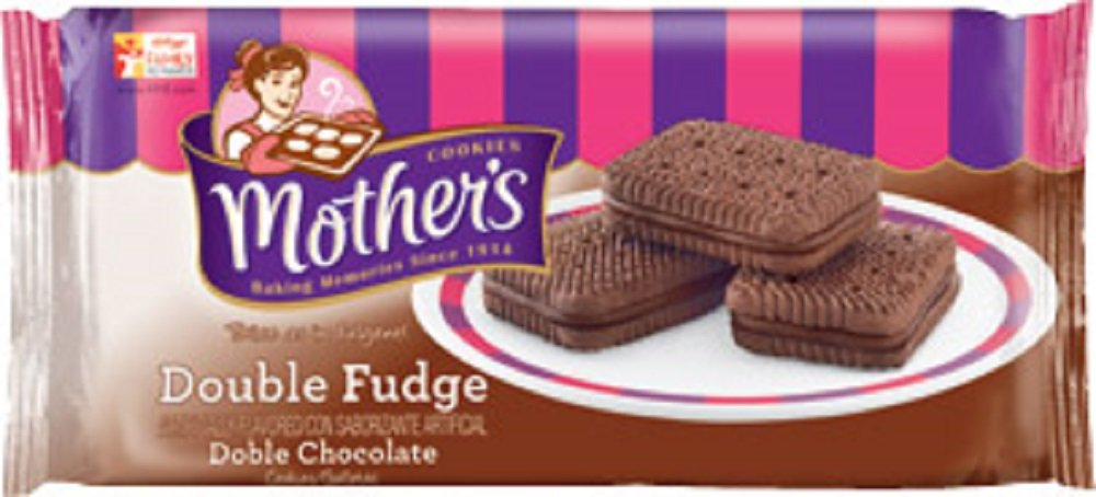 Mother's Double Fudge Sandwich Cookies, 16-Ounce Packages (Pack of 4)