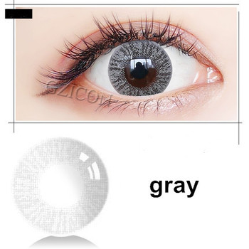 febc8bc085 MissCon Lee gray yearly natural look lenses colored wholesale eye contact  lens