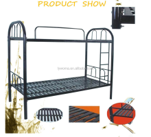 High quality unique twin kids metal bunk beds with mattress for sale