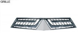 For mitsubishi pajero 2013 grille/front bumper grille/rear bumper lamp