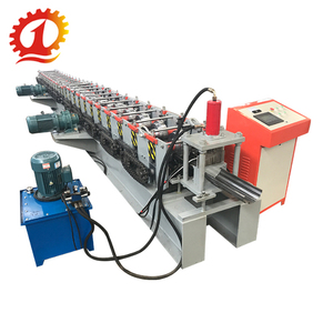 QJ Cold steel sheet aluminum metal laminating door frame roll forming machine