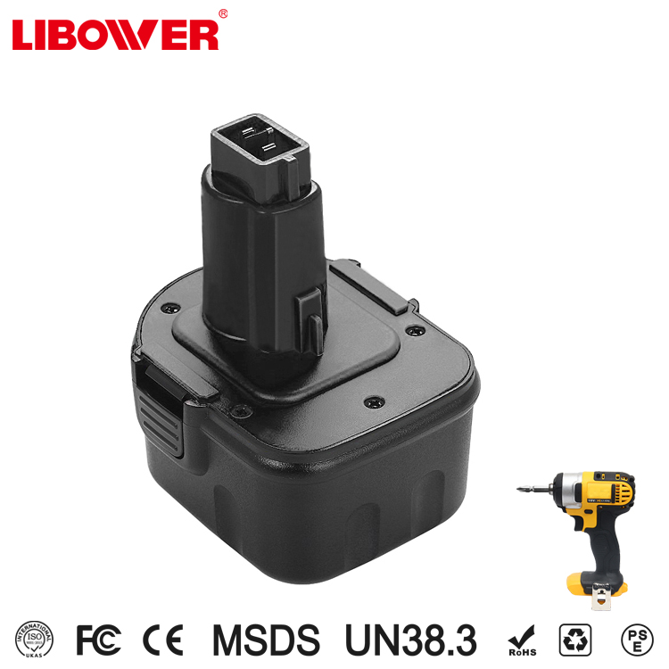 Libower Rechargeable Power Tool Battery For DewaltS 12V NIMH/NICD High Capacity battery replacement Nimh Nicd