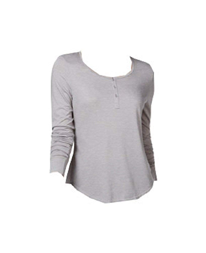 2d836ea0eae2 Get Quotations · 32 DEGREES Solid Henley Baselayer Top