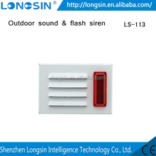 Longsin High Stability! Fire Alarm, Outdoor Strobe Siren, Strobe Alarm for Fire fighting alarm