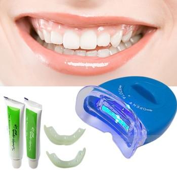 teeth dental home clod blue tool item cleaning machine use light equipment portable oral whitening smoke