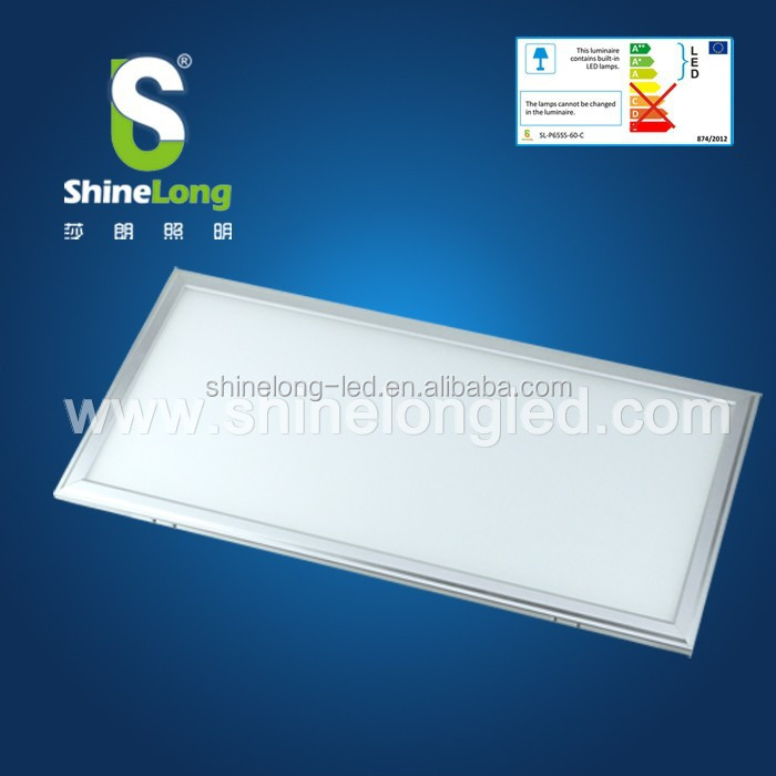 Ceiling Mounted SMD4014 square led panel light 600*1200mm 60W LED Panel Light with mounting frame