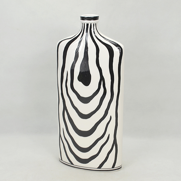 Zebra Print Modern Porcelain Chinese Vase For Decoration Buy Zebra