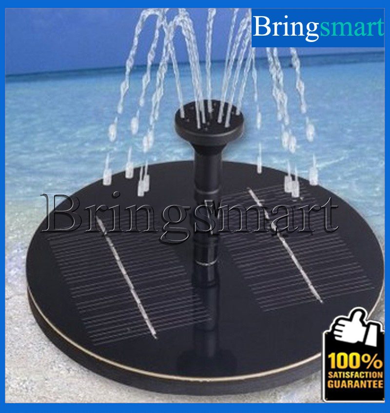 JT-160F 8V DC Brushless Motor Solar Fountain <strong>Pump</strong> 200L/H Lift 90CM Landscape Fountain with Solar Panel Submersible <strong>Pump</strong>