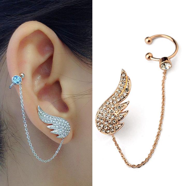 Cheap Gold Angel Wings Earrings, find Gold Angel Wings Earrings ...