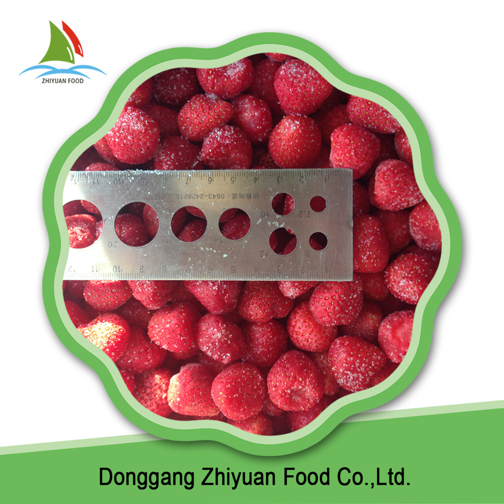 Hot selling wholesale frozen fruits iqf frozen strawberry from China