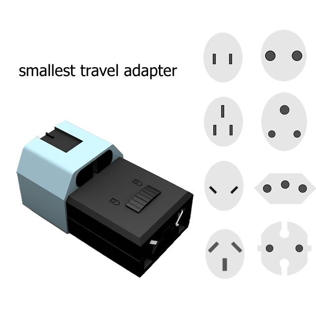 Your Micro Travel Mate vehicle adapter plug w/ banana jacks
