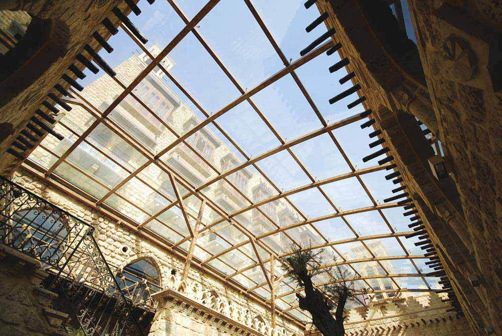Buy Light Steel Space Frame Glass Atrium Roof Qingdao
