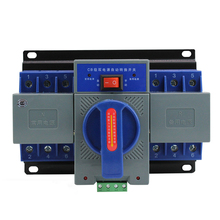 400V ATS GENERATOR 63 200A DUAL POWER AC DC MANUAL AUTOMATIC TRANSFER 3 PHASE CHANGEOVER SWITCH