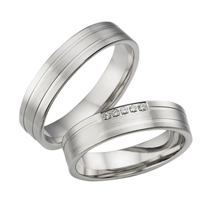 metal stamping blanks jewelry titanium ring indonesia couple ring in silver
