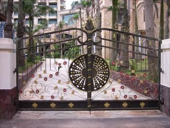 Custom Made Villas Gate Metal Gates