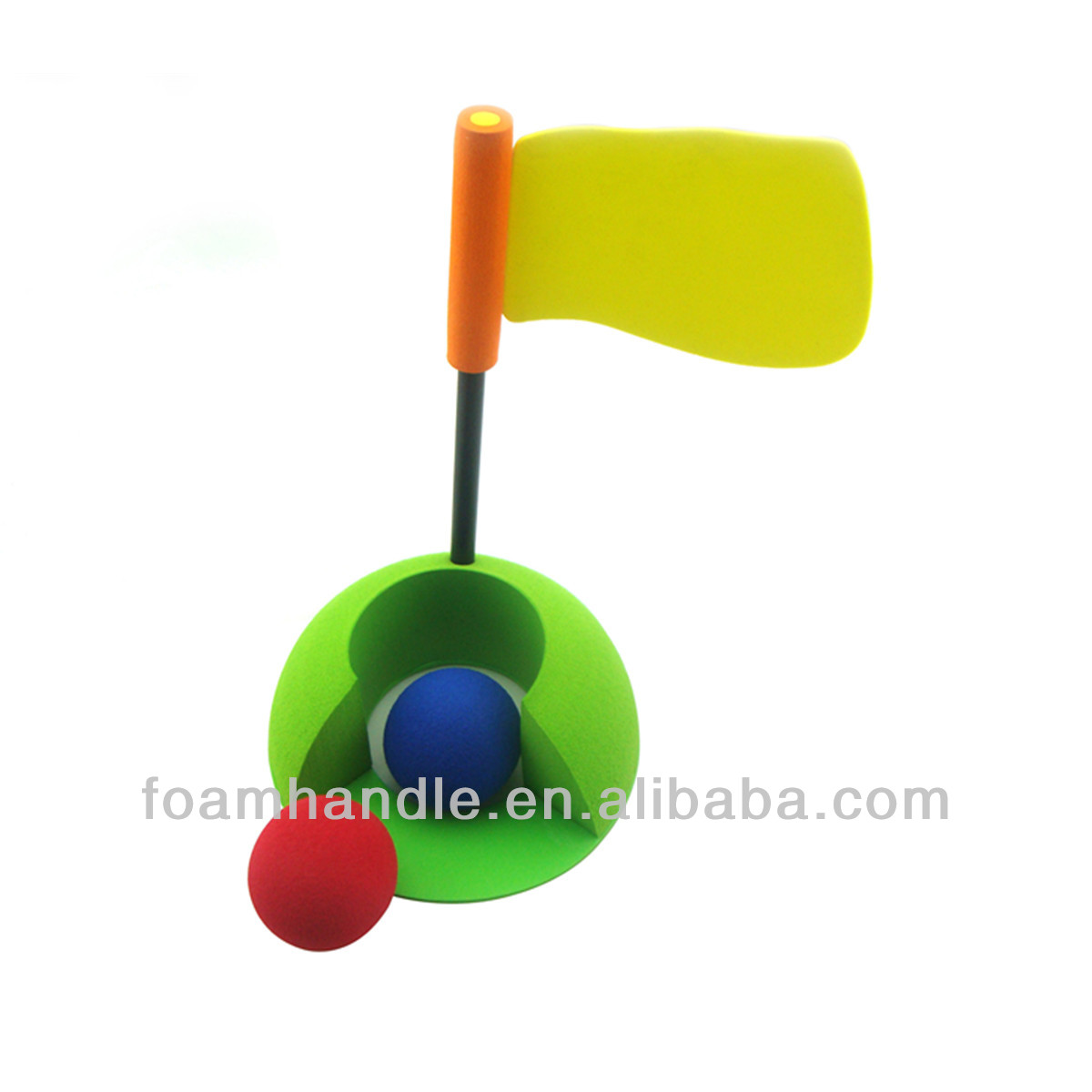 Professional baby plastic golf toys set