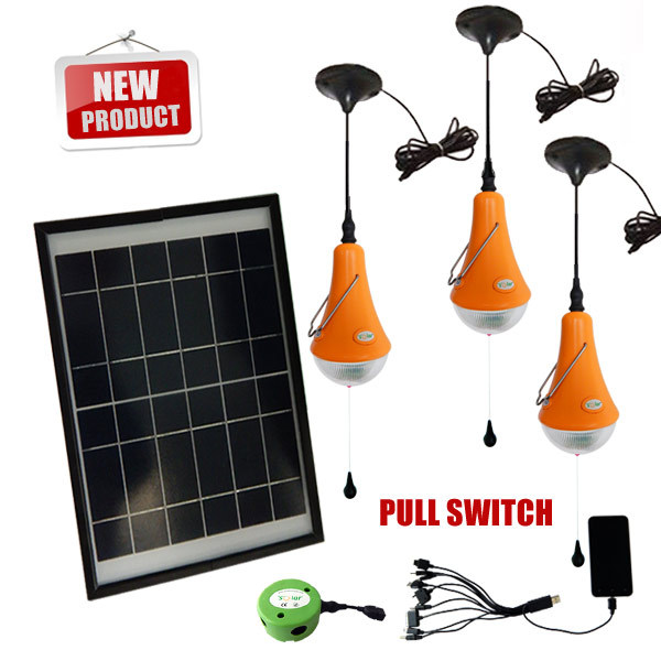 Hanging solar home kits,solar home bulbs light,solar emergency lighting led