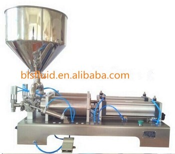 sanitary stainless steel paste filling machine for jam