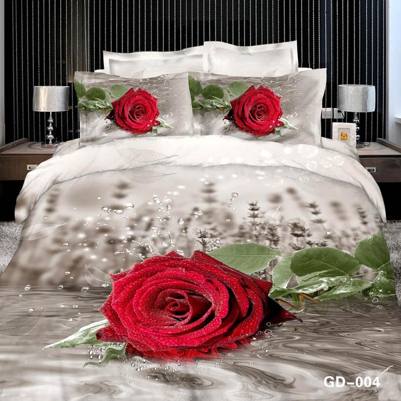 romntico ramo de rosas rojas en calidad negro ropa de cama d