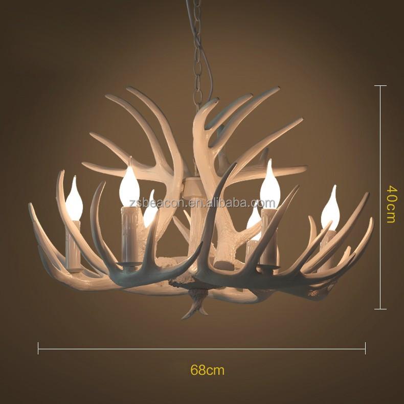 2016 Nuovo disegno decorativo 2000mm corno di cervo pendente ...