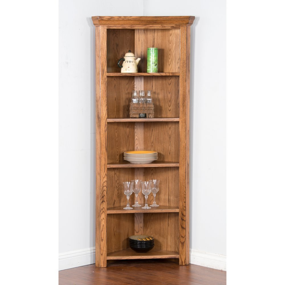Delicieux Get Quotations · Sunny Designs Sedona Corner Curio Cabinet