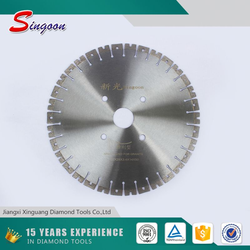 Volume supply stone cutting machine oscillating saw blade