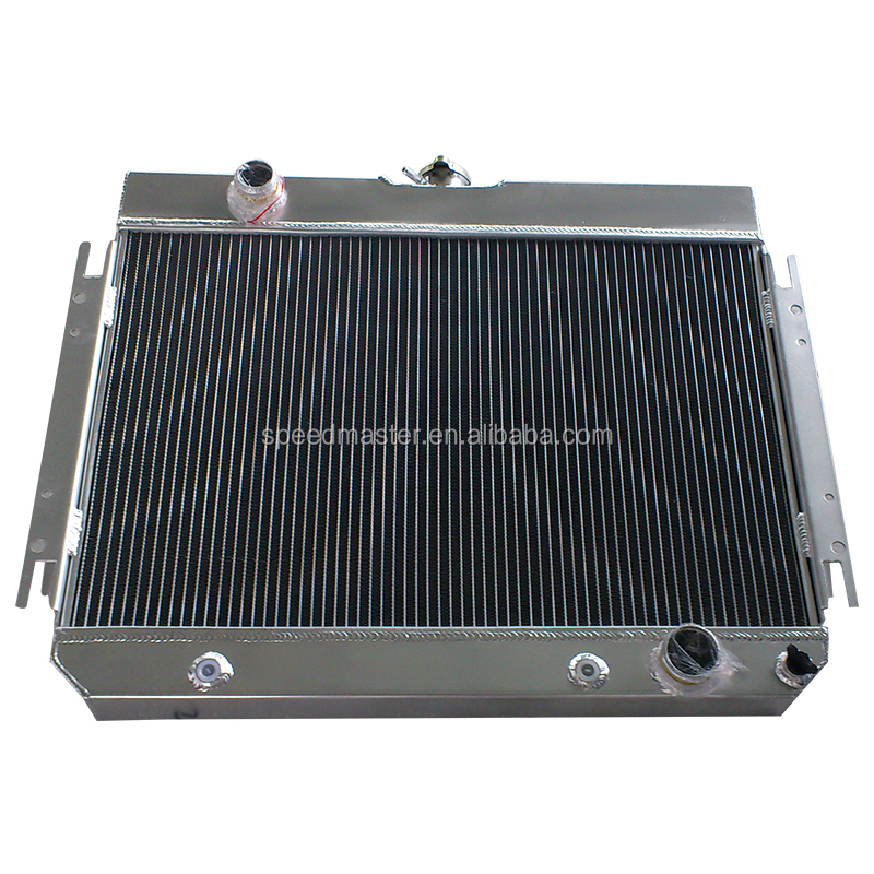 high performance aluminum auto racing radiator for 1964 - 1967 Chevy Mid