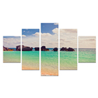 Wall framed printing 5 pcs canvas painting wall art for bedroom