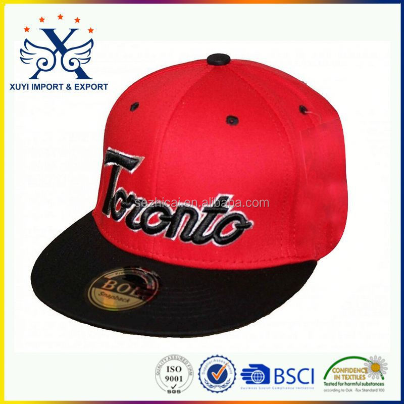 promotional cheap custom fashion custom football caps