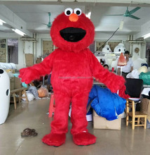 Good Feedback Good Quality Newest cartoon mascot costumes adult elmo costume elmo mascot costume
