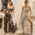 Women's Suits Summer Sexy Floral 2 pcs Woman Clothing Sets Sexy Top And Pants