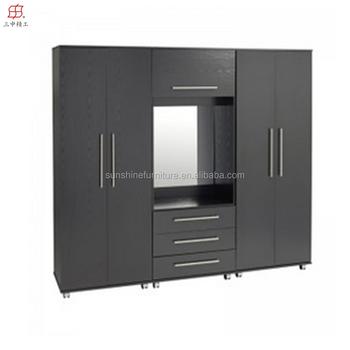 Camera Da Letto In Stile Europeo Furniturer Ruote Economici Armadio ...