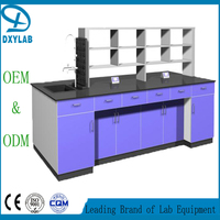 Measurement lab bench furniture electrical lab equipment with custom size