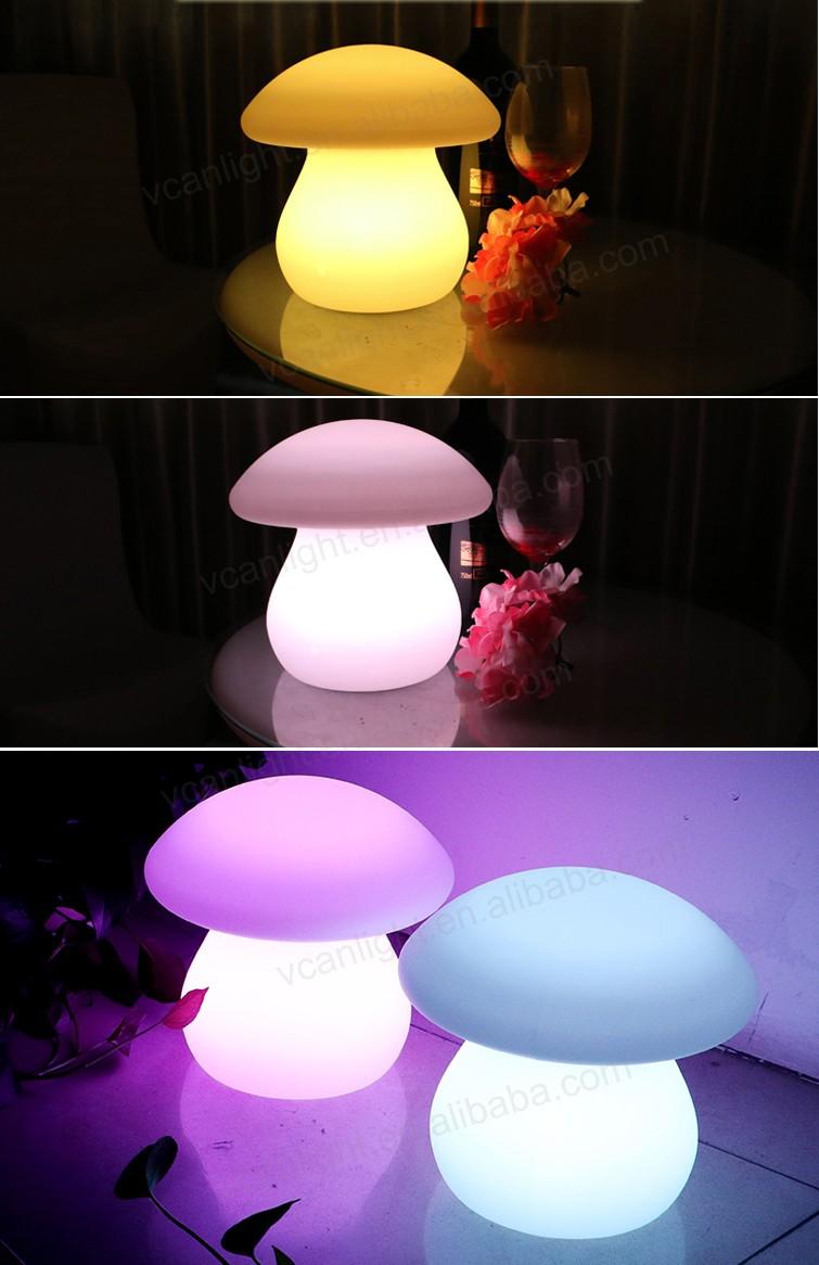 Acrylic Waterproof Cordless Intertek Night Light For Decoration