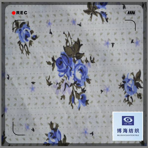 100% cotton printed cotton voile patterned voile fabric for curtains