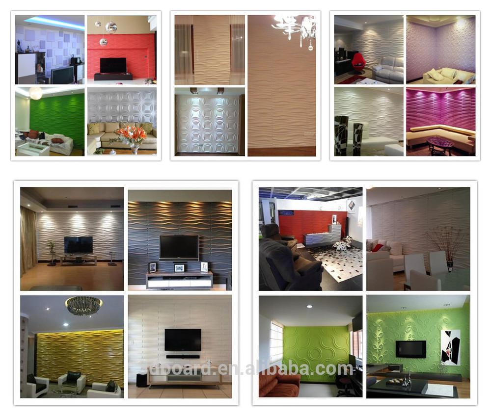 2015 beautiful interior living room walls 3d wallpaper for home