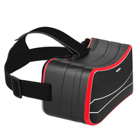 Hottest Universal Vr Box 2.0 Version Cardboard Google Vr Glasses 3d Glasses Vr Box For Film Video