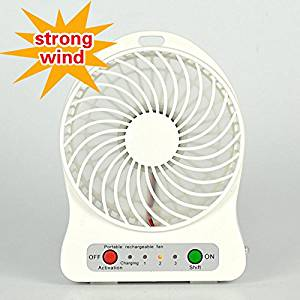 New High quantity Outdoor Protable Mini Cooling Rechargeable USB Desk Portable Pocket Mini Fan Handheld Travel Blower Air Cooler white color