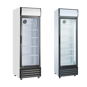 National refrigerator prices extruded handle upright vertical display cooler for pepsi