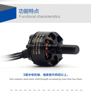 New arrival mini drone brushless dc motor R1406 3300KV for PFV racing with light weight only 13.5g