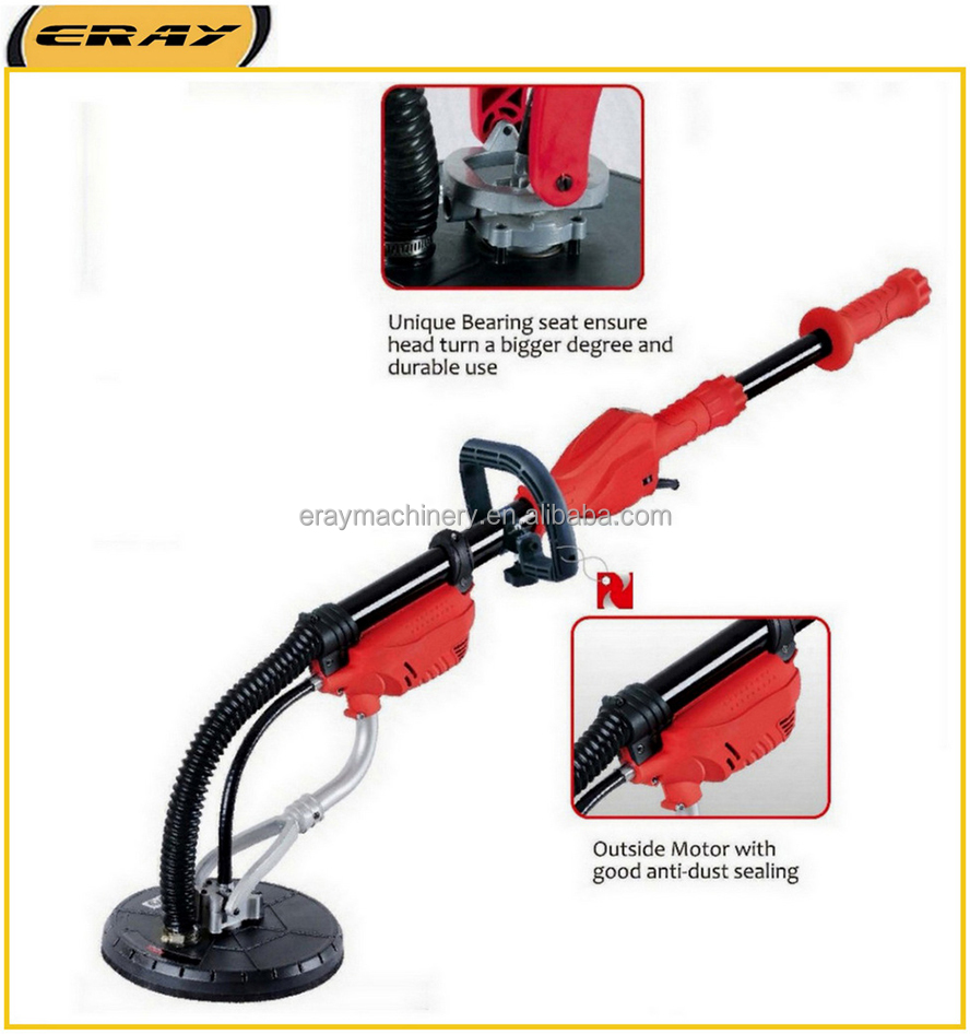 ERAY-700B electric drywall sander with automatic vacuum system